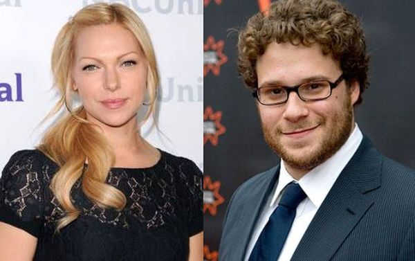 Laura Propen and Seth Rogen